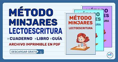 MÉTODO DE LECTOESCRITURA, MÉTODO MINJARES