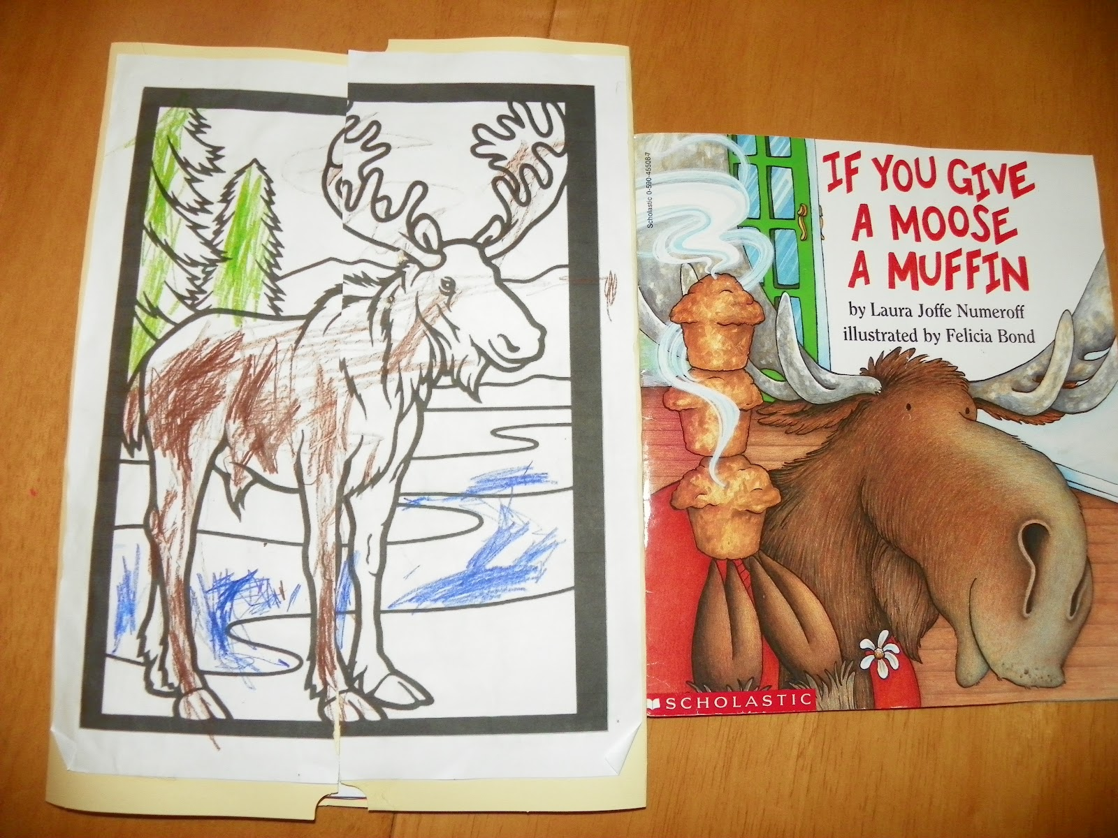 The Little Sewing Shop If You Give A Moose A Muffin