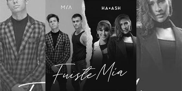 """MYA empieza este 2021 con """"Fuiste Mía"""" junto a las Ha Ash y se espera que saquen su segundo álbum"""