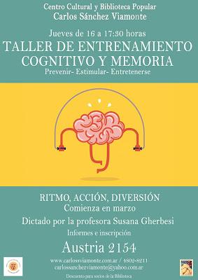 Entrenamiento cognitivo y memoria