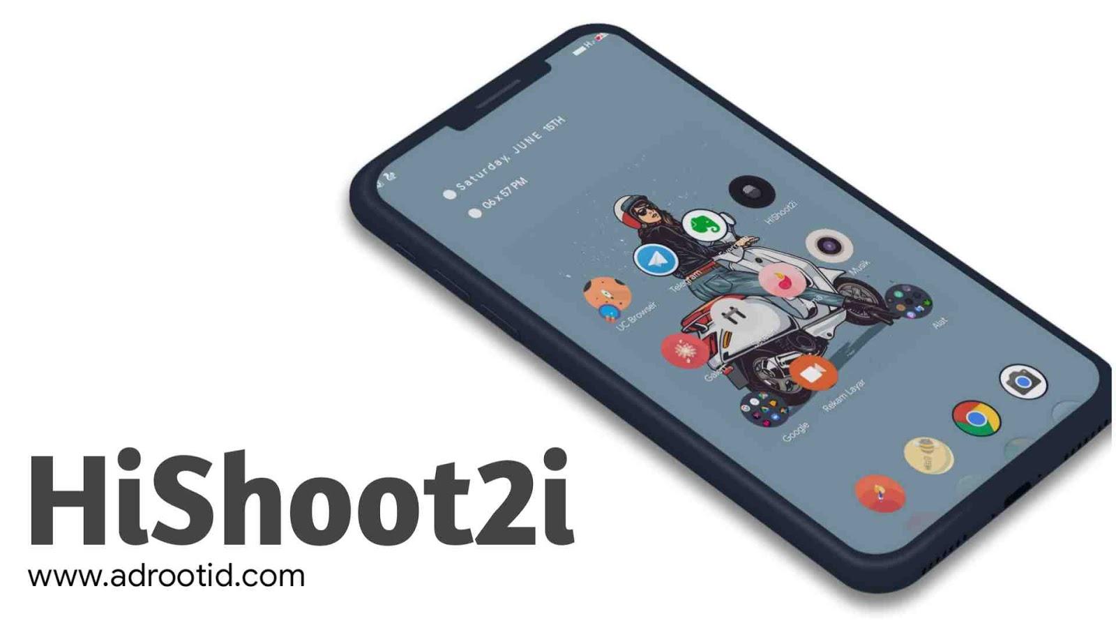 Cara menggunakan Hishoot2i