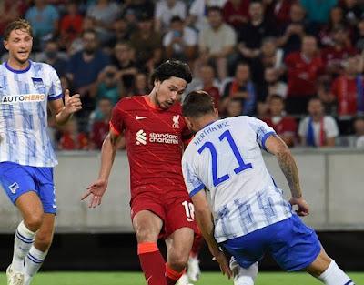 ملخص واهداف مباراة ليفربول وهيرتا برلين (3-4) مباراة ودية
