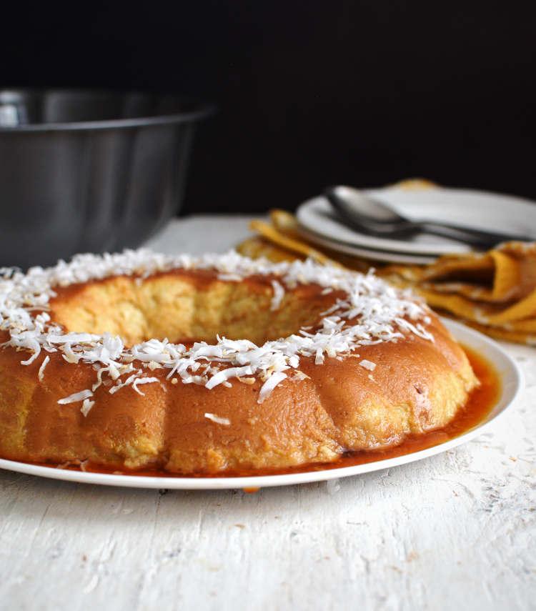 Pan de pana con coco, receta puertorriqueña
