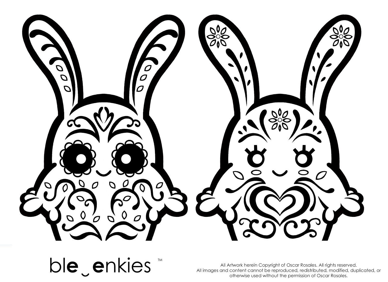 Art Of Oscar Rosales: Halloween Coloring Pages