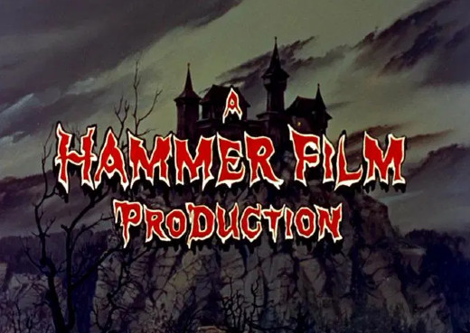 """""""A Hammer Film Production"""" title screen"""