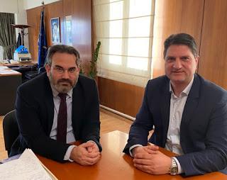 Στο Υπουργείο Περιβάλλοντος ο Γ. Αθανασόπουλος