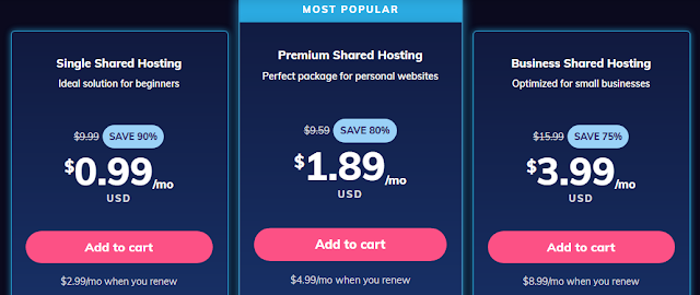 Hostinger Black Friday Sale 2020: 91% OFF $0.99/Month Web Hosting - QasimTricks.com