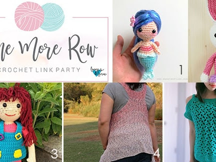 One More Row - Free Crochet Link Party #9