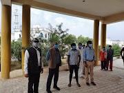 जालौन: नगर मजिस्ट्रेट ने किया उरई क्लब स्थित एल-1 कोविड अस्पताल का निरीक्षण