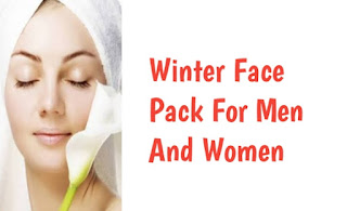 Winter face pack