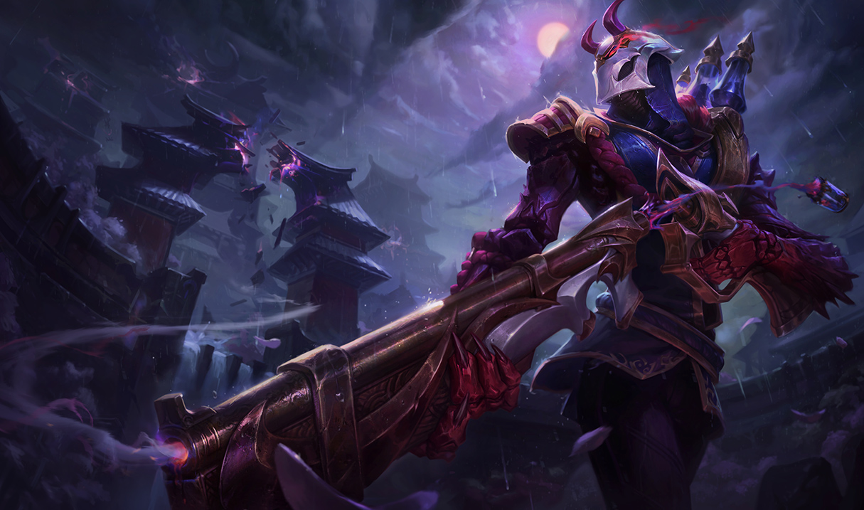 surrender at 20 1 27 pbe update blood moon jhin splash. Black Bedroom Furniture Sets. Home Design Ideas