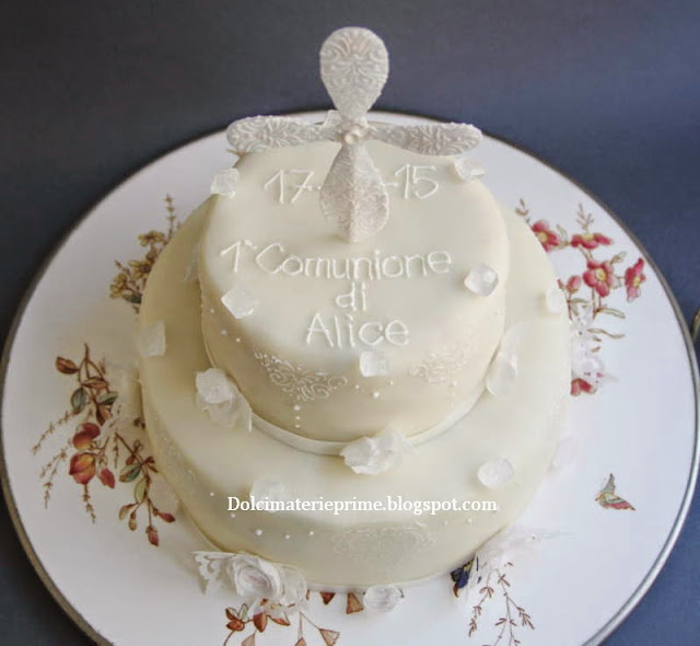 Torte prima comunione immagini for Decorazione torte prima comunione