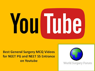 Best General Surgery MCQ Videos for NEET PG and NEET SS Entrance on Youtube