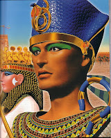 il faraone e i ministri egizi