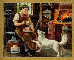 Fábula el herrero y su perro con moraleja