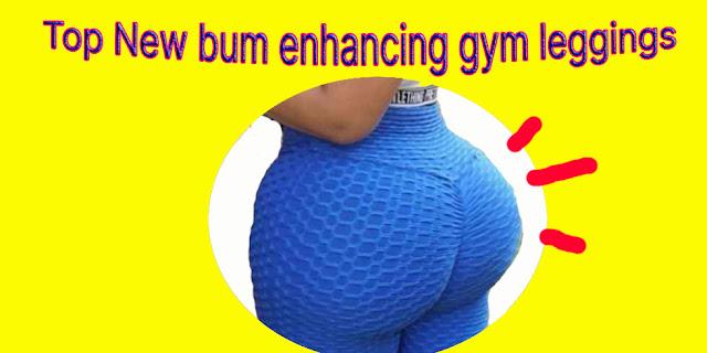 gym leggings with bum enhancing