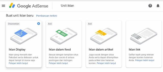 Update terbaru google Adsense