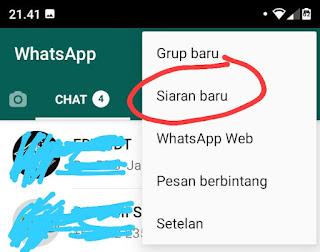Cara Mudah Membuat Broadcast di WhatsApp
