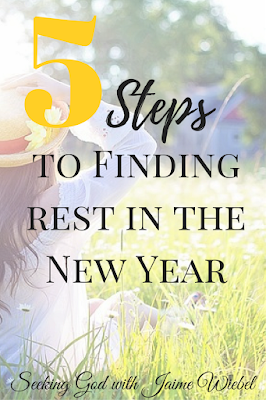 5 Steps to Finding Rest for Body, Mind, Soul in the New Year. Christian Blogs. Pray. Read God's Word, Worship, Rest, Give yourself the Freedom to Rest!