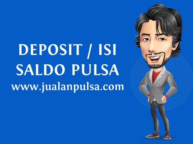 Cara Deposit / Mengisi Saldo Pulsa Murah di JualanPulsa.com