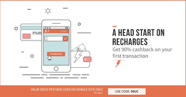 Freecharge 90UC Promo/Coupon Code Offer