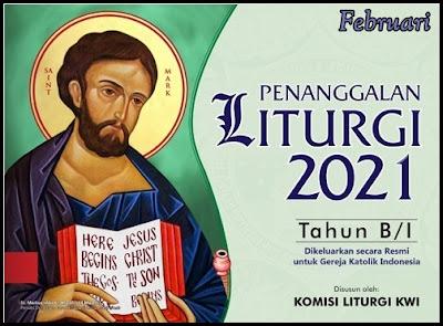 KALENDER LITURGI 2021 TAHUN B/1