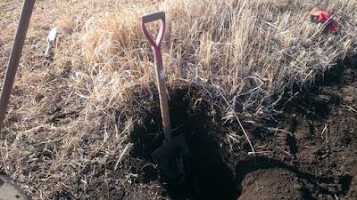 深く掘削していきます