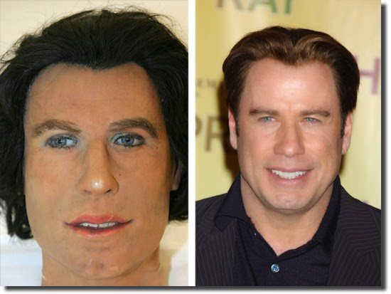 FAIL Wax Statue John Travolta