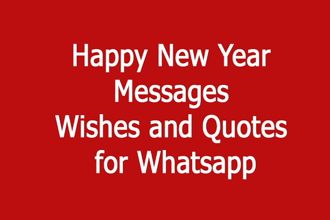 Happy New Year Messages Wishes and Quotes for Whatsapp