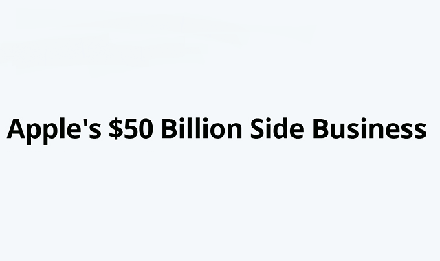 Revenue of Apple's side business