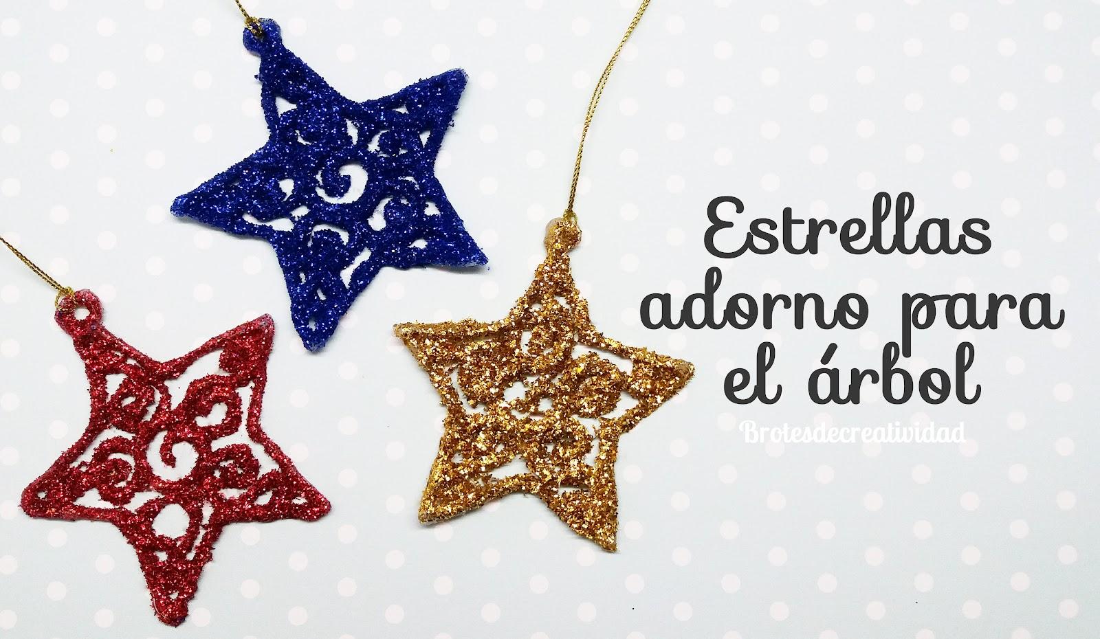 Brotes de creatividad for Adornos navidenos para el arbol