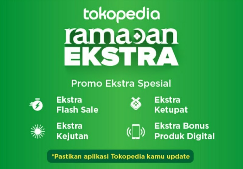 Belanja Ramadan Ekstra Hemat di Tokopedia