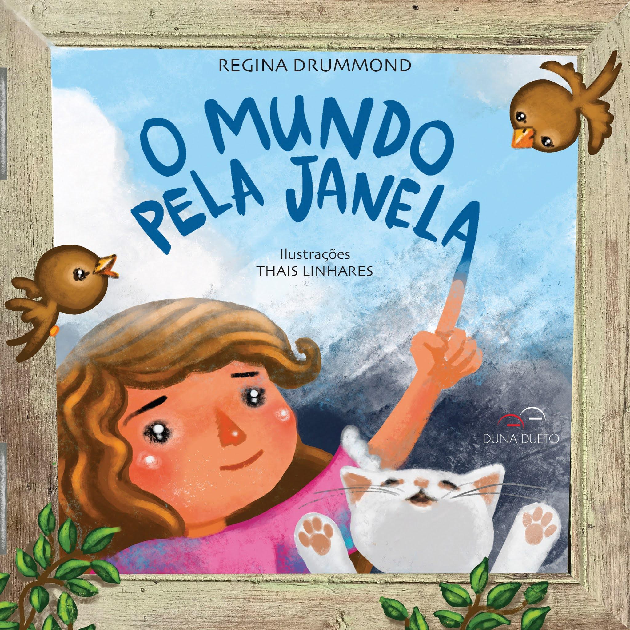 Regina Drummond lança livro infantil sobre pandemia