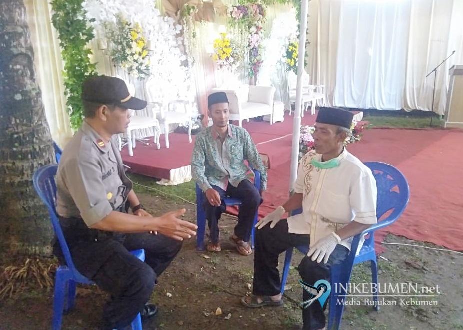 Cegah Penyebaran Corona, Dua Pesta Pernikahan di Kebumen Dihentikan Polisi