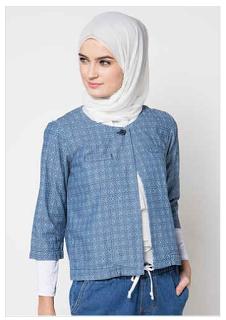 Baju Kerja Cerdigan Untuk Wanita Muslim
