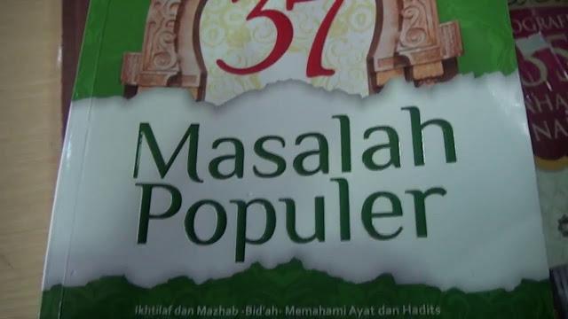 Download Ebook 37 Masalah Populer, Ustadz Abdul Somad, Lc.MA
