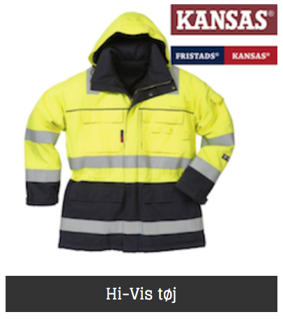 Kansas hi-vis arbejdstøj