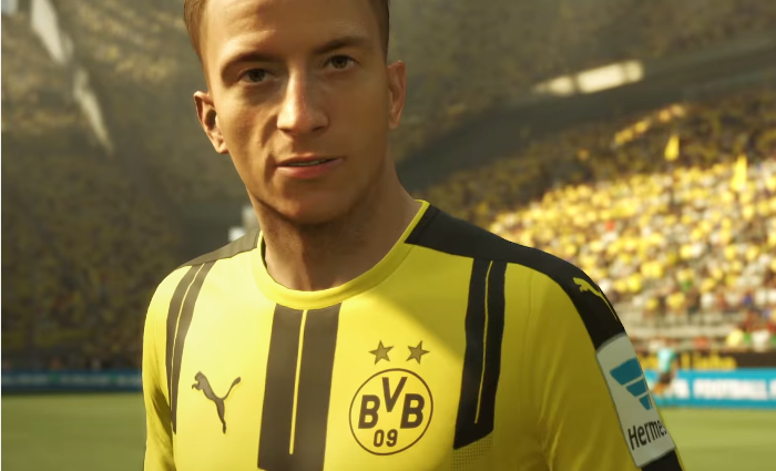 Trailer oficial futebol FIFA 17 com motor frostbite