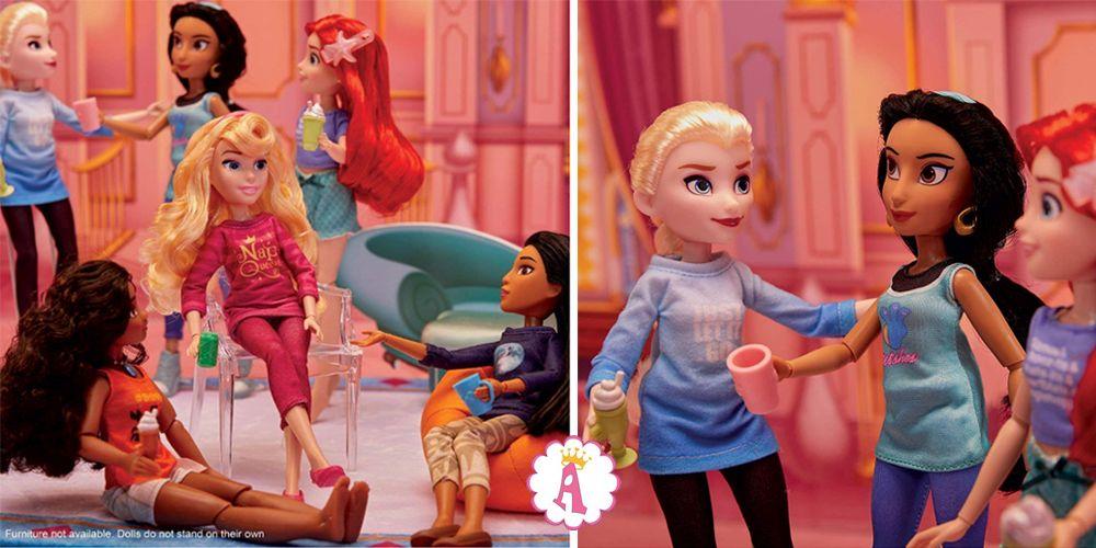 Куклы принцессы Дисней Ральф против интернета ростом как Барби