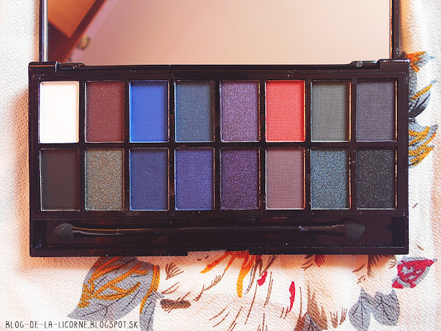 Makeup Revolution Give Them Darkness Eyeshadow Palette