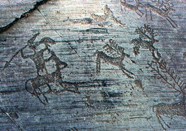 incisioni rupestri in Valcamonica storia dell'arte rupestre preistoria paleolitico