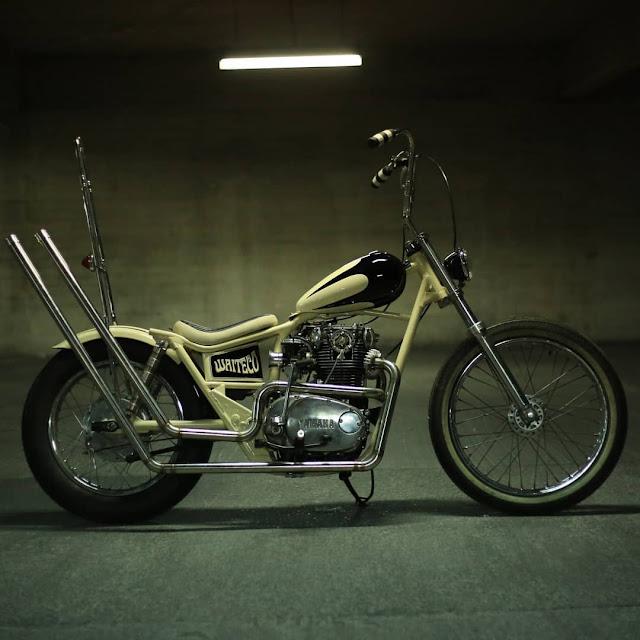 Yamaha XS650 By Motor Master Chile Hell Kustom
