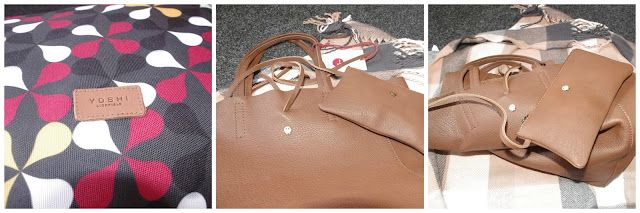 yoshi brown leather shopper bag