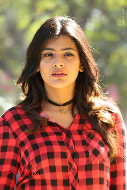Actress Hebah Patel Stills in Blue Denim Jeans at Nanna Nenu Naa Boyfriends Movie Success Meet  0004.JPG