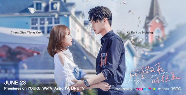 Falling Into Your Smile la nueva serie de Cheng Xiao y Xu Kai