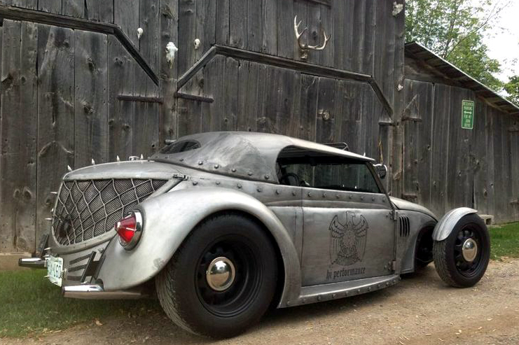Photo Booth Killer: Custom VW Beetle for sale on Canada