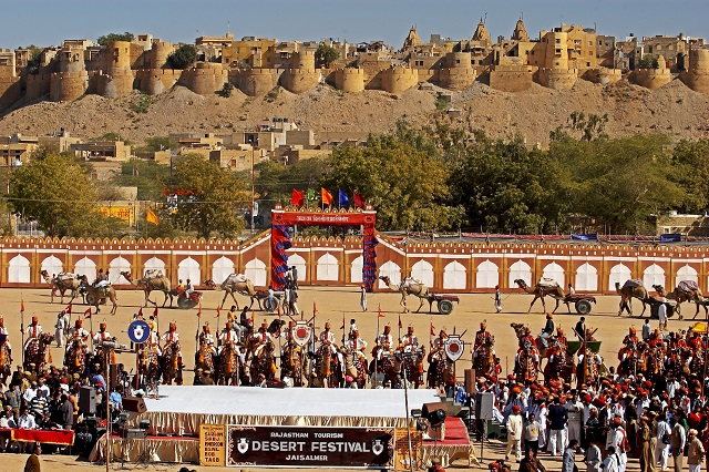 Desert Festival of Jaisalmer, also known as Rajasthan Desert Festival attracts visitors from all over.