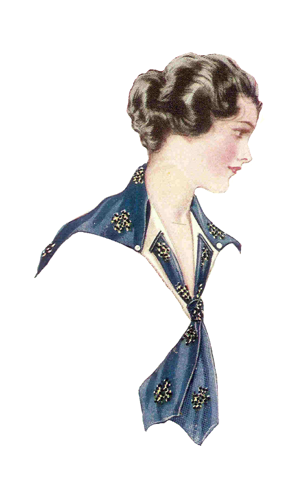 Antique Images: Free Fashion Clip Art: 2 Vintage Women's