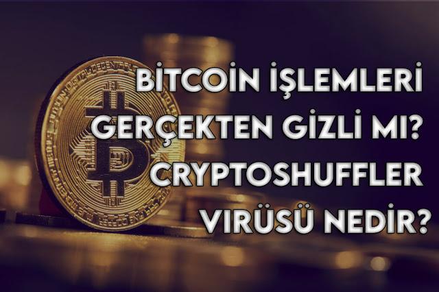 CryptoShuffler Virüsü Nedir? Bitcoin İşlemleri Gerçekten Gizli mi?
