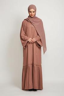 Model baju lebaran muslimah warna coksu
